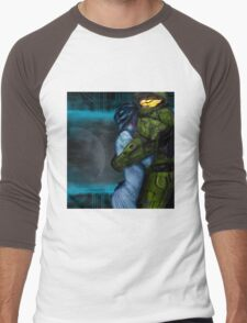 Cortana & Master Chief Men's Baseball ¾ T-Shirt