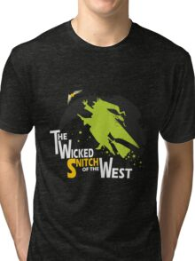The Wicked Snitch of the West - Dark Tri-blend T-Shirt