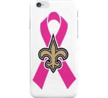 Breast Cancer Awareness Saints iPhone Case/Skin