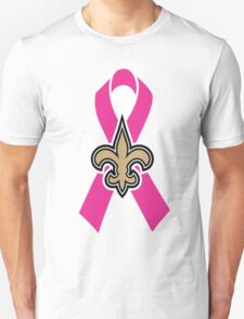 Breast Cancer Awareness Saints T-Shirt