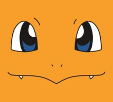 Charmander Face by alienaviary