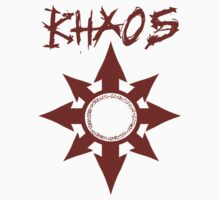 Khaos Logo (red) by ChaosCanine