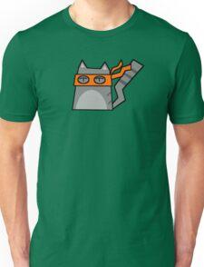 Michaelangelo Teenage Mutant Ninja Kitty Unisex T-Shirt