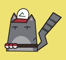 Ash (pokemon) Cat Kids Tee