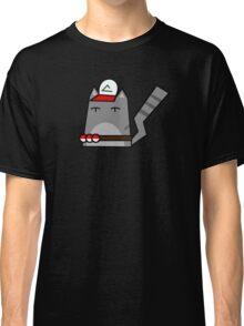 Ash (pokemon) Cat Classic T-Shirt