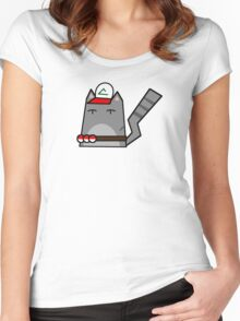 Ash (pokemon) Cat Women's Fitted Scoop T-Shirt