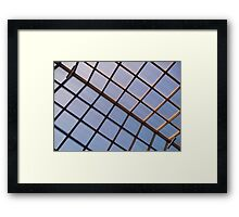 Mirror imagine skylight. Framed Print