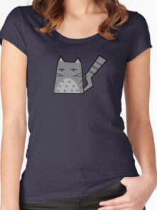 Totoro Cat Women's Fitted Scoop T-Shirt