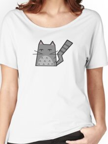 Totoro Cat Women's Relaxed Fit T-Shirt