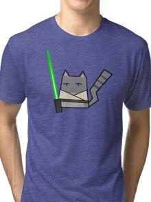Skywalker Cat Tri-blend T-Shirt
