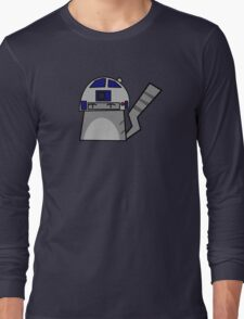 R2D2 Cat Long Sleeve T-Shirt