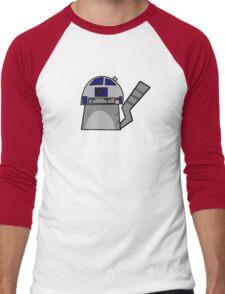 R2D2 Cat Men's Baseball ¾ T-Shirt
