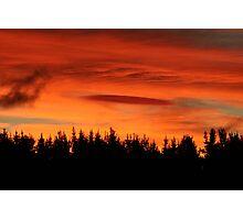 Sunday Sunset Photographic Print