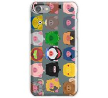 A Piggy Parcel  iPhone Case/Skin