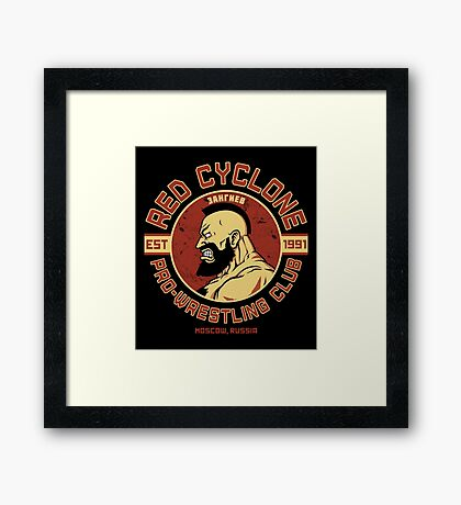 Pro-Wrestling Club Framed Print