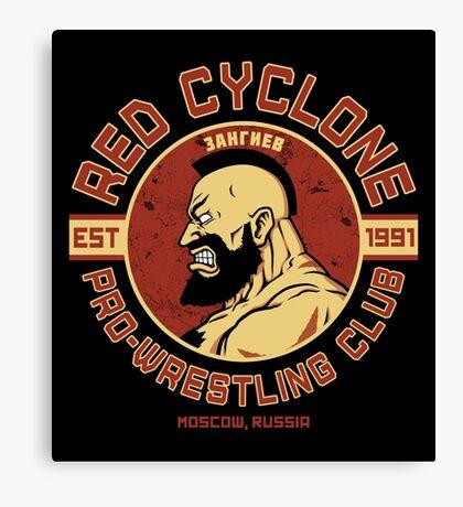 Pro-Wrestling Club Canvas Print