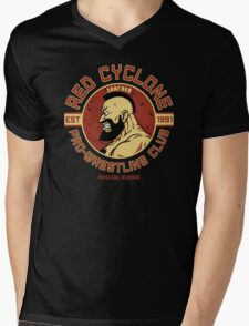 Pro-Wrestling Club Mens V-Neck T-Shirt