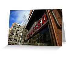 espresso. pellegrinis, melbourne  Greeting Card
