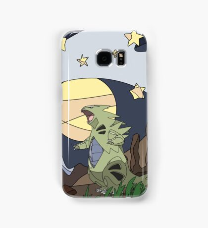 Tyranitar vs the Moon Samsung Galaxy Case/Skin