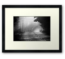 A great place to live, walk.. Framed Print