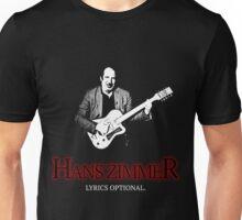 Hans Zimmer: Lyrics Optional Unisex T-Shirt