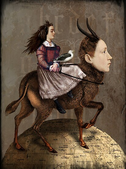 The storyteller by Catrin Welz-Stein