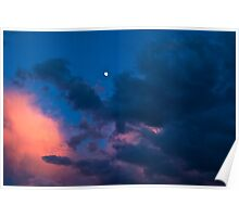 One Dramatic Evening Sky Poster