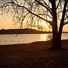 Lakeside Dusk by sillicus