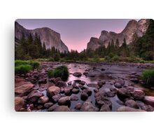 Gates of the Valley #3 Canvas Print