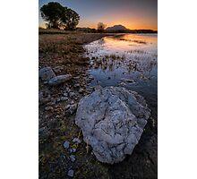 Rock Me Sunset Photographic Print