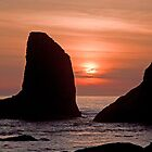 Sunset At Bandon by LucyAbrao