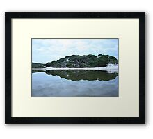Mirror Mirror of the lake... Framed Print