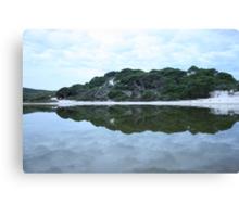 Mirror Mirror of the lake... Canvas Print