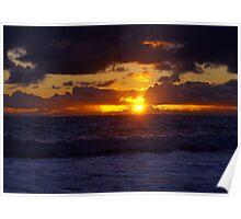 Carlsbad Sunset Poster