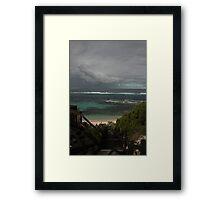 Thunder Rolls, Shoal Cape. Framed Print