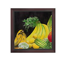 Crested Banana Joint Cluster Photographic Print