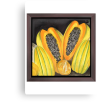 Papaya & Co. Canvas Print