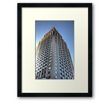 Houston Downtown Framed Print