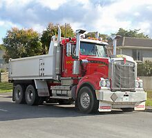 Rockit Tasmania - Kenworth at Work by PaulWJewell