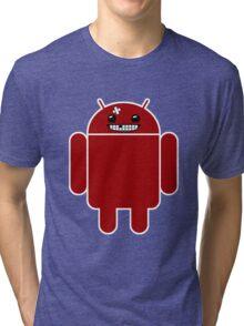 Super Meat Droid Tri-blend T-Shirt