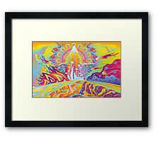 Zion Future City Framed Print