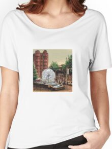 El Alamein Fountain, Kings Cross Women's Relaxed Fit T-Shirt