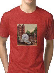 El Alamein Fountain, Kings Cross Tri-blend T-Shirt