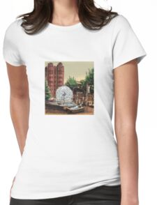 El Alamein Fountain, Kings Cross Womens Fitted T-Shirt