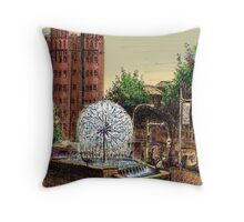 El Alamein Fountain, Kings Cross Throw Pillow