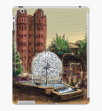 El Alamein Fountain, Kings Cross iPad Case/Skin