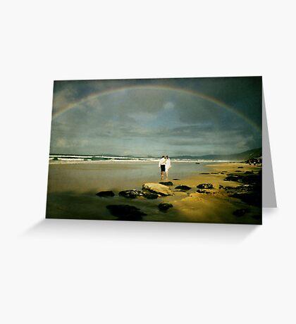 Rainbow Beach... Greeting Card