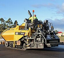 Rockit Tasmania - Laying down the Asphalt by PaulWJewell
