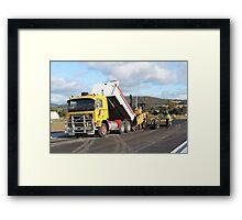 Rockit Tasmania - F12 Volvo Framed Print