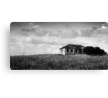 abandoned in grasses Canvas Print